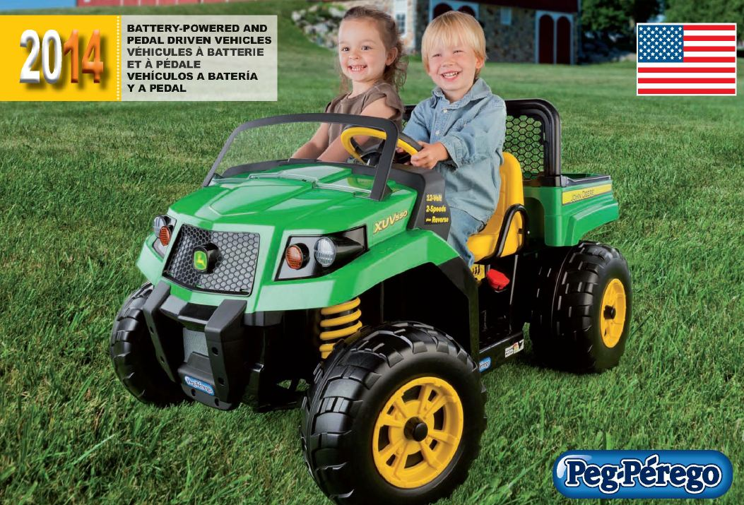 2014 Children's Riding Vehicles Catalog